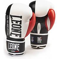 Боксерські рукавички Leone Contender White 14 ун.