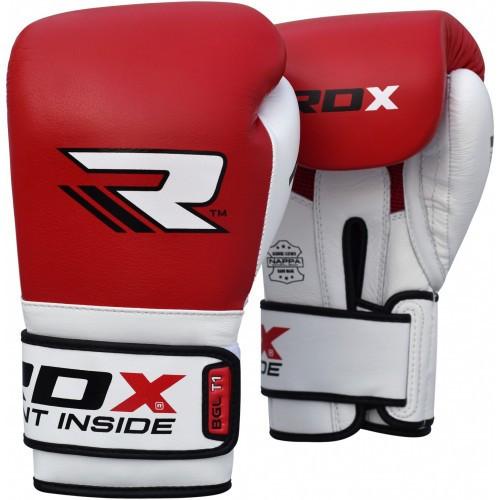 Боксерські рукавички RDX Pro Gel Red 14 ун.
