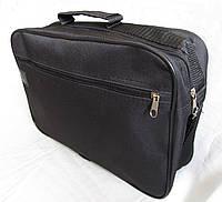 Мужская сумка через плечо барсетка деловая А4 34,5х23,5х10см