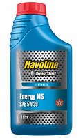Масло TEXACO HAVOLINE Energy MS 5W-30 канистра 1л