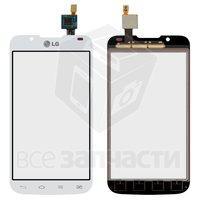 Тачскрин (сенсор) для мобильного телефона LG P715 Optimus L7 II, белый