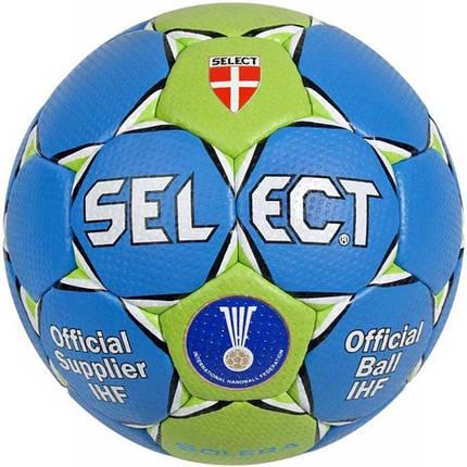 Мяч гандбольный SELECT Solera - blue, фото 2