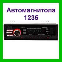 Автомагнитола MP3 USB 1235, магнитола в авто