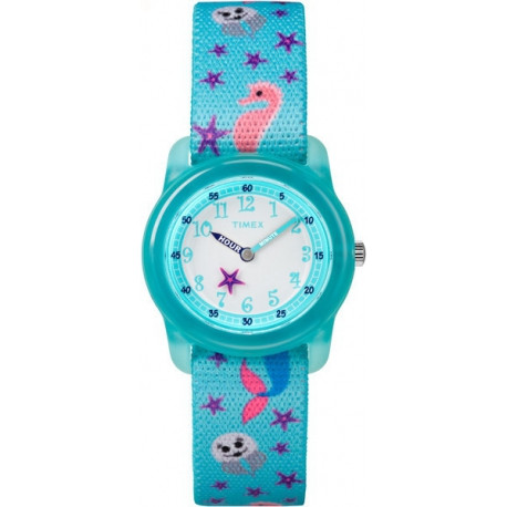 Детские часы Timex YOUTH Time Teachers Mermaid/Jelly Fish Tx7c13700