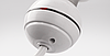 Белый компактный мини-ТЭН TERMA REG2 white с кнопкой (термостат 65С) +подсветка. Для полотенцесушителя , фото 8