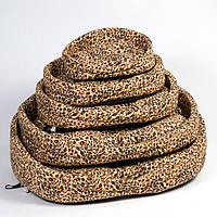 Лежак Природа Люкс 2, хлопковая ткань, 52х36х20 см
