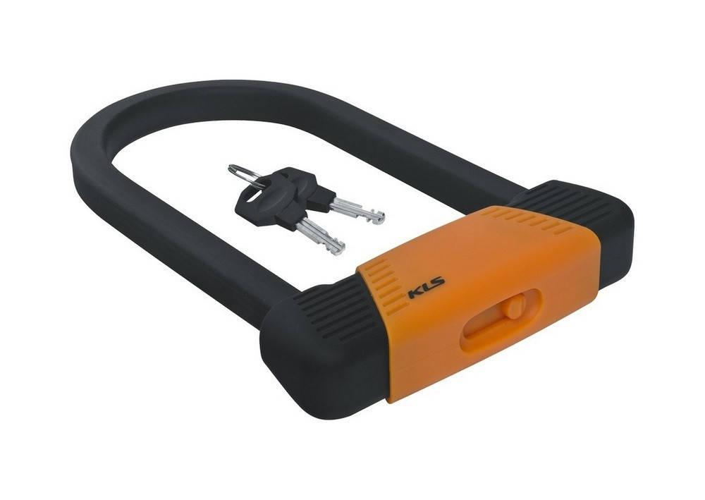 Велозамок KLS Block U-Lock оранжевый, фото 2