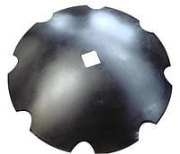 Диск бороны Kuhn 660 мм ромашка δ-8мм квадрат 41 (10 лепестков)