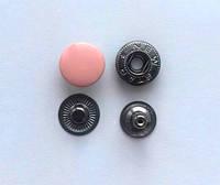 Кнопка АЛЬФА - 15 мм эмаль № 135 пудра