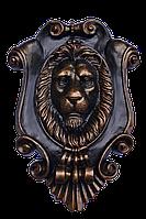 Настенный декор - картуш с головой льва, фото 1