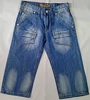 Бриджи джинсовые р 28