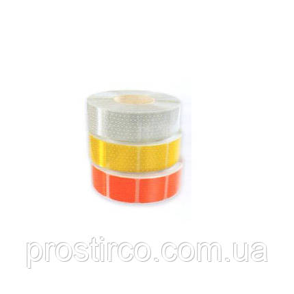 Светоотражающая делимая лента на тенты 67.02.02 (желтая), фото 2