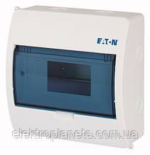 Щиток розподілу (щиток під автомати) ВС-ПРО-1/8-ECO Eaton / Moeller зовнішній