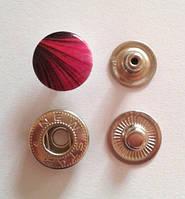 Кнопка АЛЬФА - 15 мм эмаль с рисунком № 2