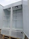 Шафа холодильна дводверний бо, холодильна шафа глухий б/у, фото 4