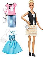 Барби Модница Fashions Leather & Ruffles 44