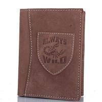 Мужской кошелек Always Wild (ОЛВЕЙС ВАЙЛД) натуральная кожа