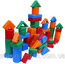 """Игровые мягкие модули для игровых комнат. Конструктор KIDIGO (МВМ) """"Строитель -1"""" мини"""