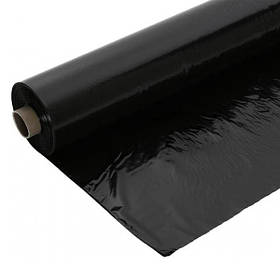 "Пленка строительная черная, 60мкм., рукав 1,5м., ""Украина"" (10-966) рулон 100м."