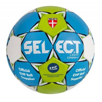 Мяч гандбольный SELECT Light Grippy, фото 2