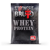 Протеин STRONGFIT Whey Protein Brutto(1 кг.)