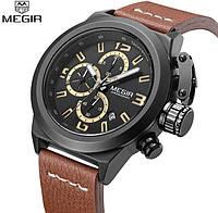 Мужские военные наручные часы Megir Life (№ M-2029)/ ГАРАНТИЯ