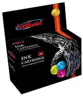 Цветной картридж JetWorld для  Lexmark 15  18C2110E