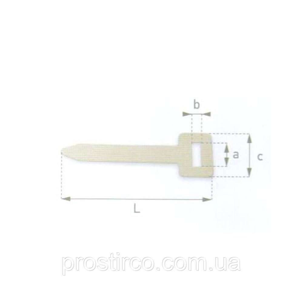 Ремни для люверсов 43.20.01 (белый)