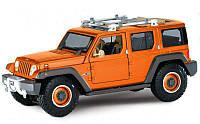 Автомодель Maisto (1:18) Jeep Rescue Concept Оранжевый металлик (36699 met. orange)