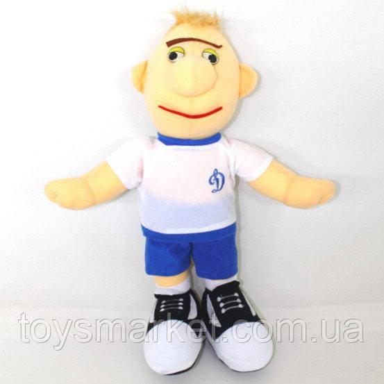 Мягкая игрушка, парень Футболист