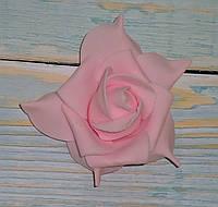 Головка розы фоам розовой