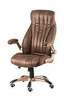 Кресло Conor taupe, гранж темно-коричневый, офисное, компьютерное