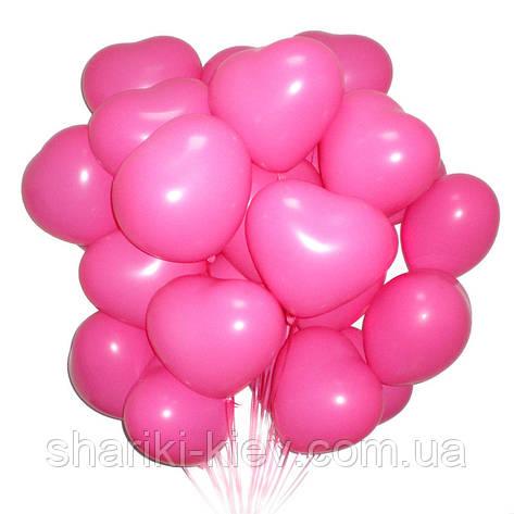 Связка из 20-ти шаров сердец на День Рождения, фото 2