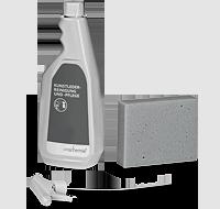 Средство для чистки и ухода за искусственной кожей - щадяще к материалу