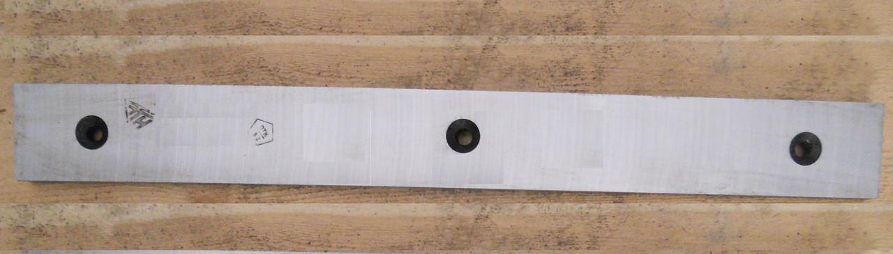 Нож плоский для резки металла 520х75х25 сталь 6ХВ2С
