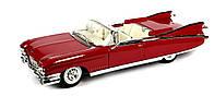Автомодель Maisto 1:18 Cadillac Eldorado Biarritz (1959) Красный (36813 red)