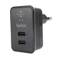 Сетевое зарядное устройство Belkin 2100mah  (2 USB)