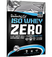 Сывороточный изолят Biotech USA Iso Whey Zero Lactose Free (500 грамм.)