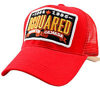Кепка мужская Dsquared. Женская кепка. Бейсболка| D2 красная