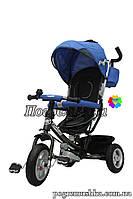 Детский трехколесный велосипед Turbo Trike M 3452-2 FA EVA - Синий