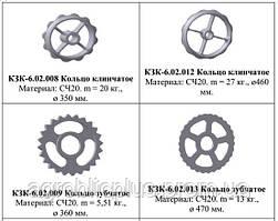 Кільце клинчате КЗК-6,02,012