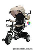 Детский трехколесный велосипед Turbo Trike M 3452-2 FA EVA - Бежевый