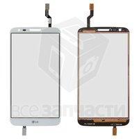 Тачскрин (сенсор) для мобильного телефона LG G2 D802 белый
