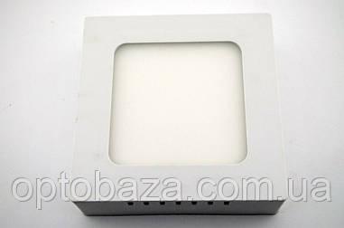LED светильник накладной 6Вт 4000К (120х120х37 мм)