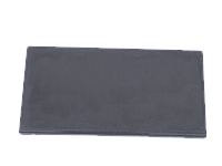 Цокольная крышка для забора LAND BRICK серая 110х400 мм
