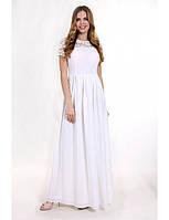 Свадебное платье с кружевной отделкой G2039 (р.38-42euro)