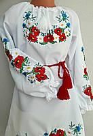 Платье вышитое детское Марийка, фото 1