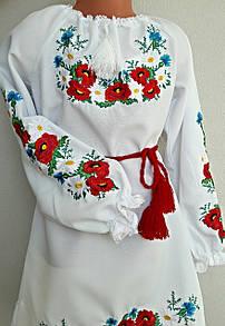 Платье вышитое детское Марийка