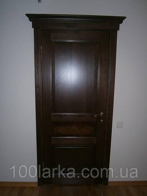 Двери деревянные межкомнатныеиз массива ясеня