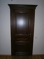 Двері дерев'яні межкомнатныеиз масиву ясена, фото 1